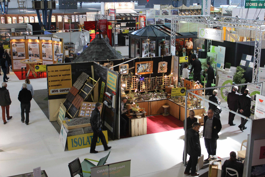 Les photos du Salon du Bois